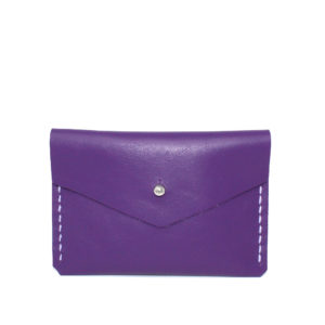 PURPLE LEATHER